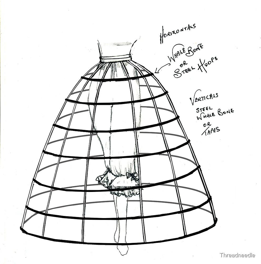 Crinoline or cage by Threadneedle