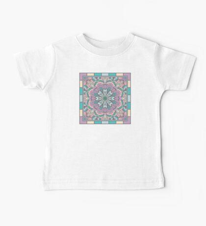 Ethnic Ornament With Mandala Baby Tee