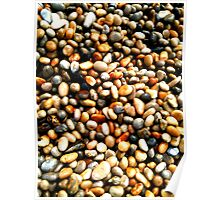 Chesil Beach Pebbles Poster