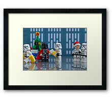 Darth Santa Framed Print