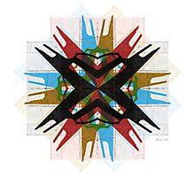 Bauhaus Star Photographic Print