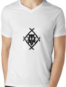 HOLLOW SQUAD Mens V-Neck T-Shirt
