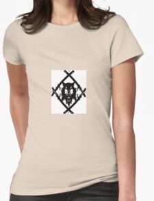 HOLLOW SQUAD Womens Fitted T-Shirt