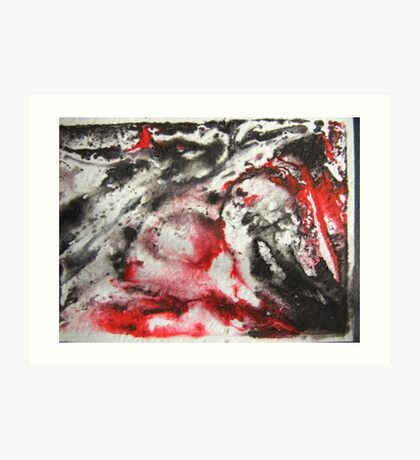 I See Red Art Print