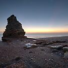 Liddle Stack - Blast Beach Seaham by David Lewins