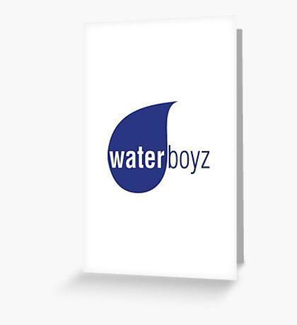 WATER BOY Greeting Card