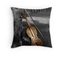 Violin Series 5 Throw Pillow