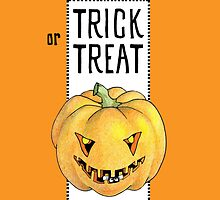 Pumpkin Trick or Treat by Mariana Musa
