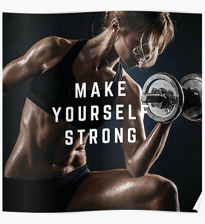 Make Yourself Strong Poster