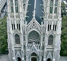 Saint Patricks Cathedral by Jim Sugrue