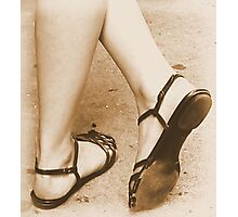 #16   Heel & Toe Photographic Print