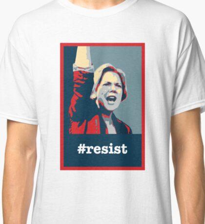 Elizabeth Warren: #RESIST Classic T-Shirt