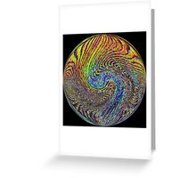 # 1  Waves Of Psychedelia Greeting Card