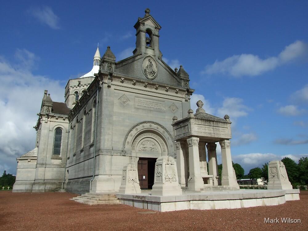 Basilica at Notre Dame de Lorette by Mark Wilson