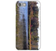 Fall Colors Over The Pond iPhone Case/Skin
