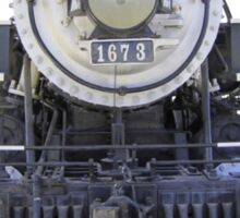1899 steam locomotive Sticker
