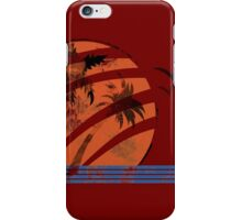 Scarred Sunset iPhone Case/Skin