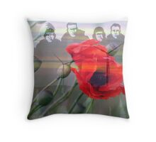 """Lest we forget ""- 158  squadron Lissett  Throw Pillow"