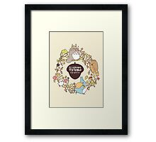 My Neighbour Totoro Framed Print