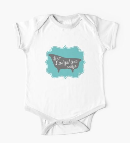 """Downton Abbey """"Her Ladyship's Soap"""" One Piece - Short Sleeve"""