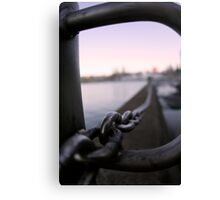 Chained in Canvas Print