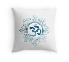 Ocean Ohm (Complex) Throw Pillow