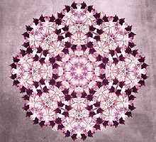 Flower Mandala PINK by filippobassano