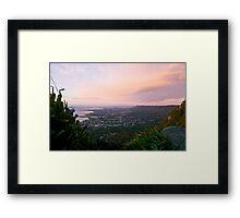 Sunrise over Bulli Framed Print