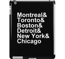 Original Six Cities iPad Case/Skin