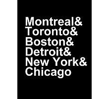 Original Six Cities Photographic Print
