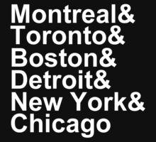 Original Six Cities T-Shirt