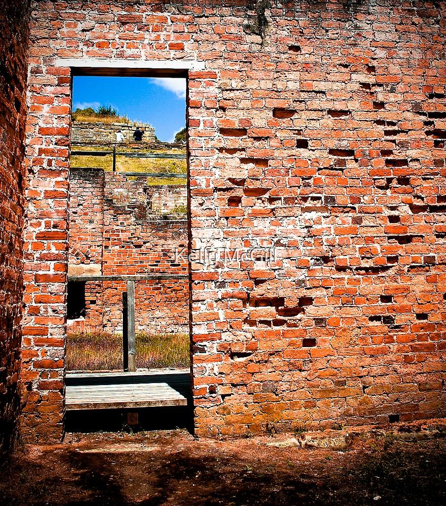 Ruins - Port Arthur, Tasmania by Kelly McGill
