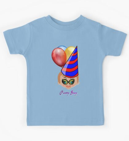 Party Boy 10 T-shirt design Kids Tee