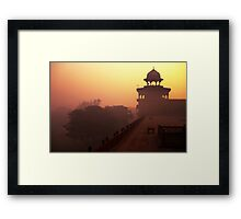 Fire Tower Framed Print