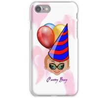 Toon Boy 10a Party iPhone case design iPhone Case/Skin