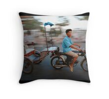 AUTO RICKSHAW Throw Pillow