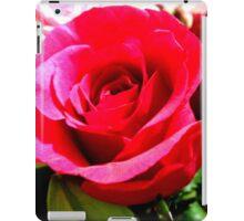 Cerise Pink Rose iPad Case/Skin
