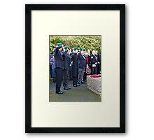 5 Bootnecks & a Wreath Framed Print