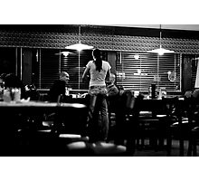 Diner Candid Photographic Print