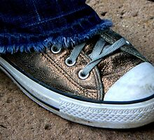 #34   Golden Chucks by MyInnereyeMike