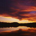 Lake Bennett Sunset by Andrew Brown