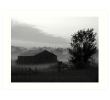 #35  Rural Barn In Tennessee Art Print