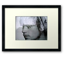 Grey Man, Sweden Framed Print