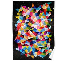 Space Shapes Poster
