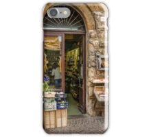 Orvieto Shopfront iPhone Case/Skin