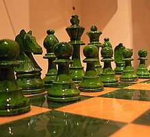 #46    Chess Pieces by MyInnereyeMike