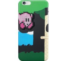 Kirby NES (Paints 'n' Beads) iPhone Case/Skin