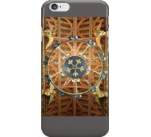 Cardiff Castle: Great Hall ceiling iPhone Case/Skin
