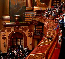 #72  View From The Lower Balcony At The Beacon Theater  by MyInnereyeMike