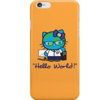 """Hello World!"" iPhone Case/Skin"